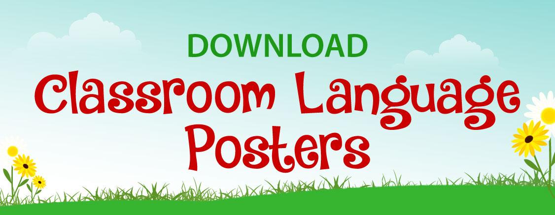 Classroom Language Posters – SEAQIL