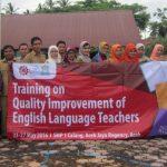 English Participants of Junior High School at SMP 1 Calang