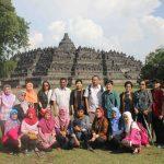 Figure 9 Group Photo at Borobudur Temple